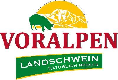 Logo Voralpen Landschwein - natürlich besser